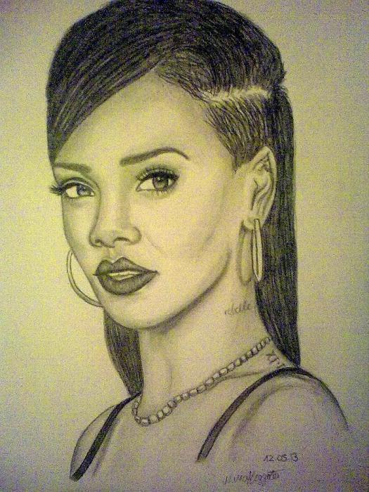 Rihanna by nathalie94